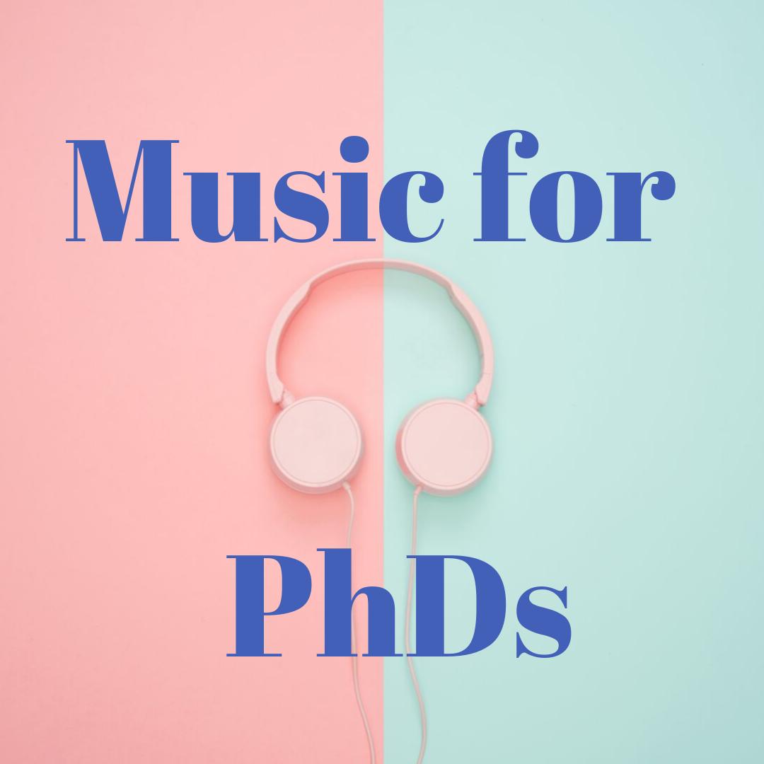 Music for PhDs podcast logo